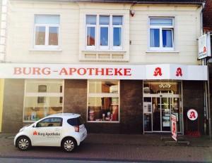 Burg-Apotheke Neuenhaus Dinkel Grafschaft Bentheim Apotheke